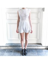 Amuse Society After hours dress - White
