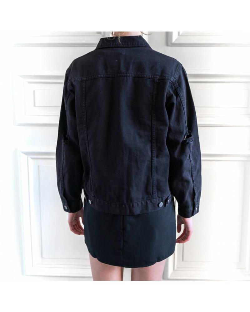 Amuse Society Blue eyes Jacket - Black Jacket