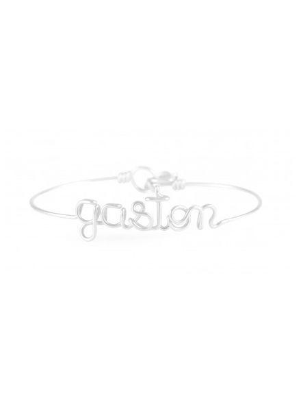 Atelier Paulin Personalised bracelet 6-10 letters - Argentinum 935