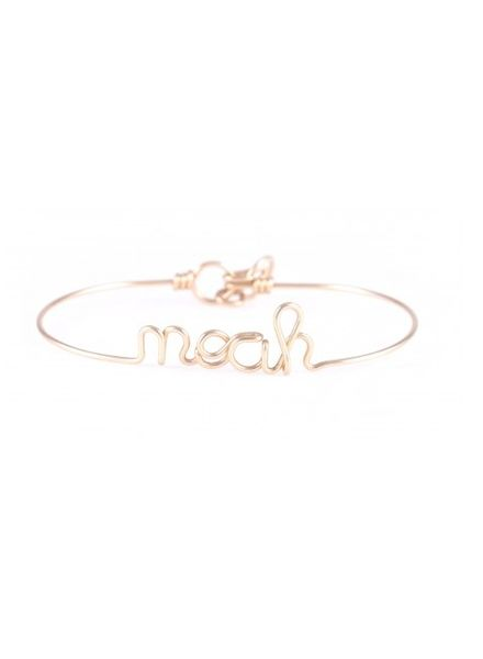 Atelier Paulin Personalised bracelet 1-5 letters - Gold-filled 14k