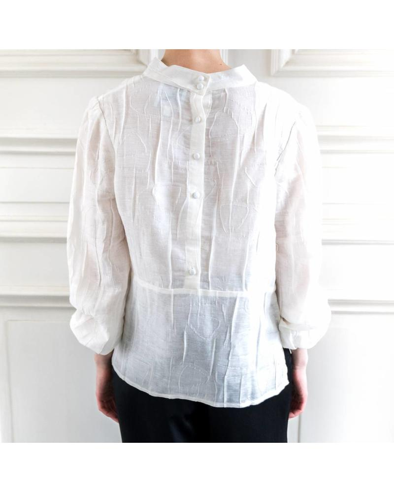 Kelly Love Moonlight blouse - White