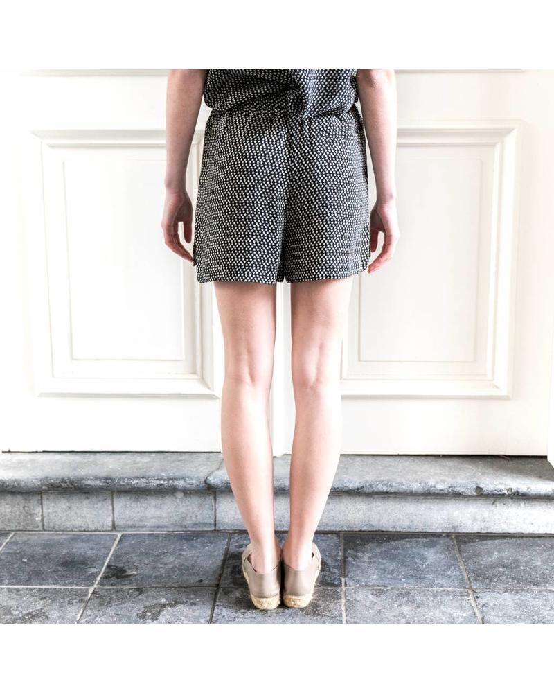 Hope Giza shorts - Black star