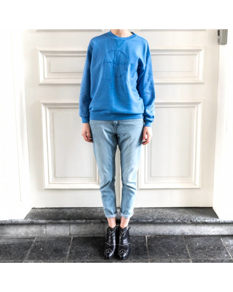 Anine Bing Vintage sweatshirt - French Blue