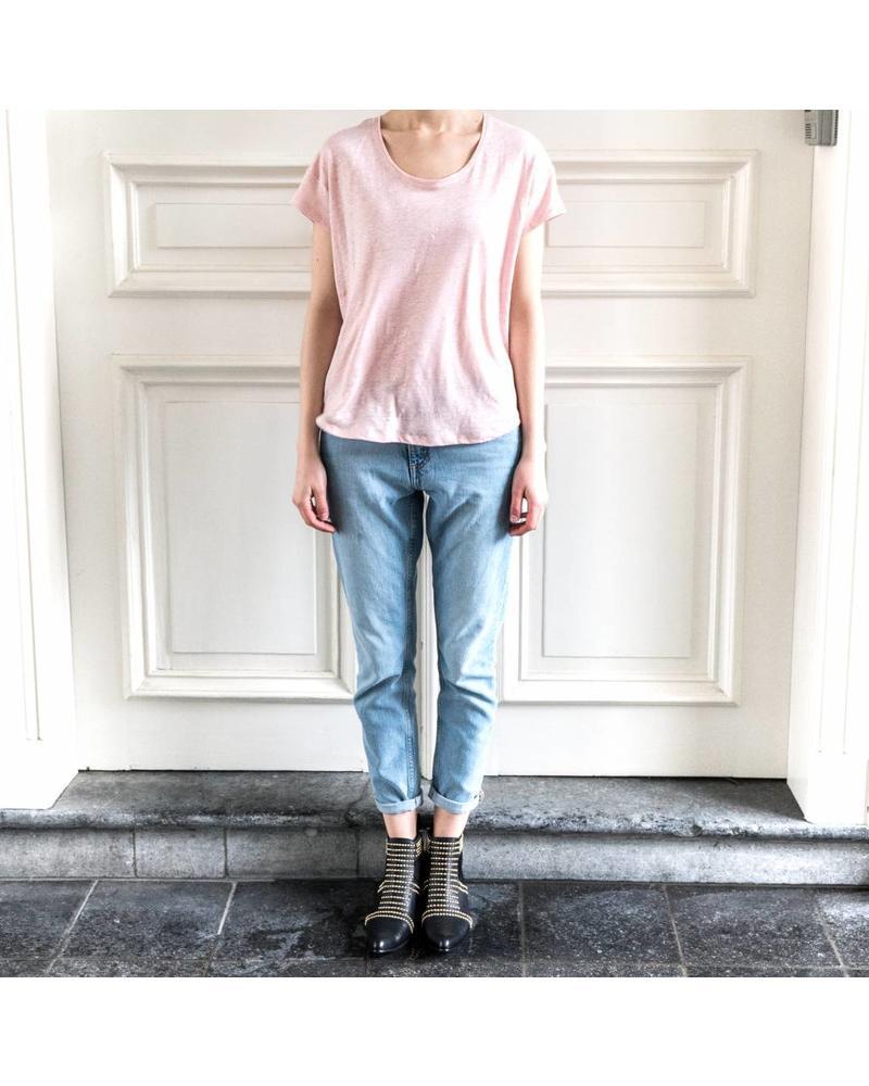 SET Linen Tee - Rose