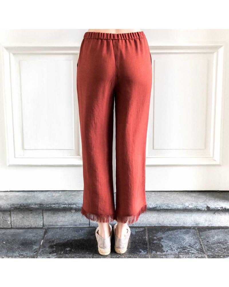 Nanushka Blaze Pants - Brick