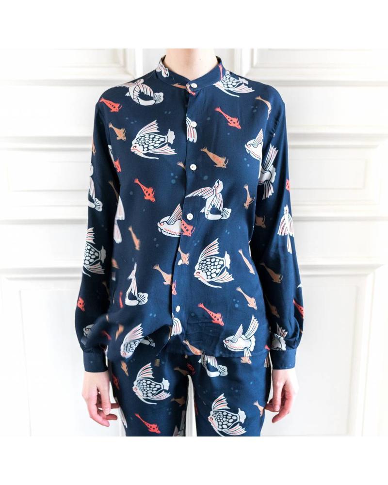 Hope Daze shirt - Ocean Print