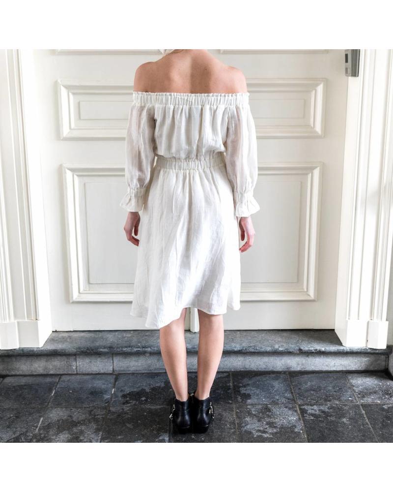 Kelly Love Moonlight Dress - White