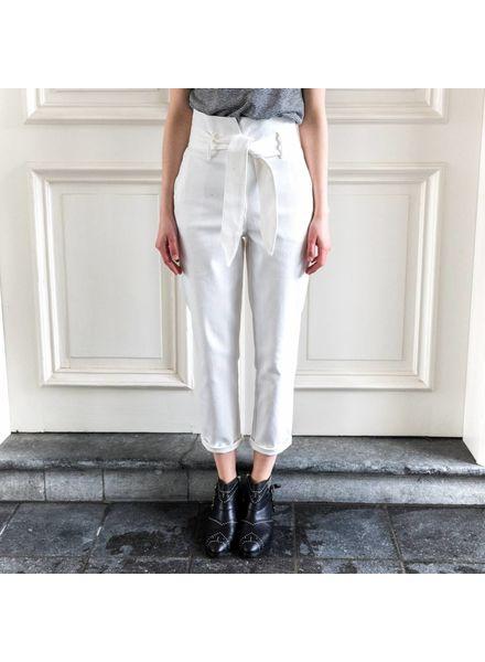 Nanushka Jude denim pants - White
