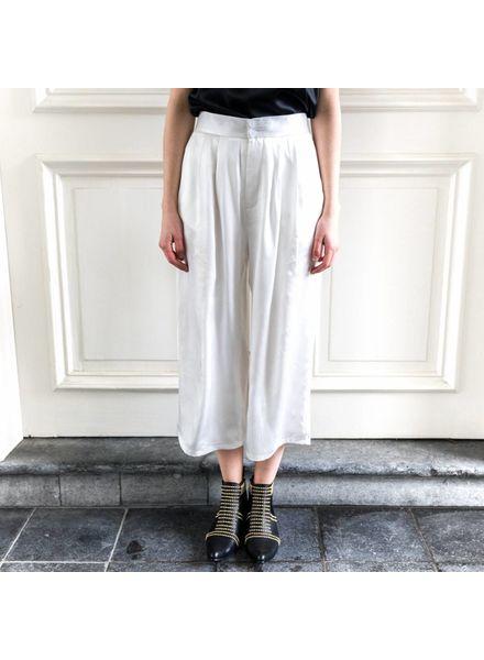 Kelly Love Sweet garden trousers - White