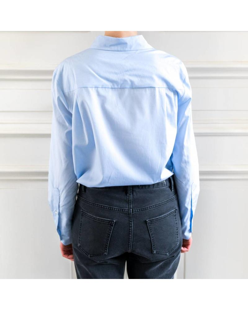 SET Cactus blouse - Lt Blue