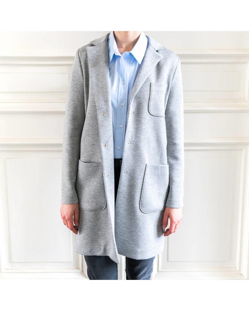 SET Coat - Light grey