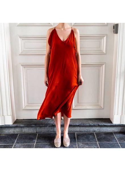 Magali Pascal Whisper dress - Morange