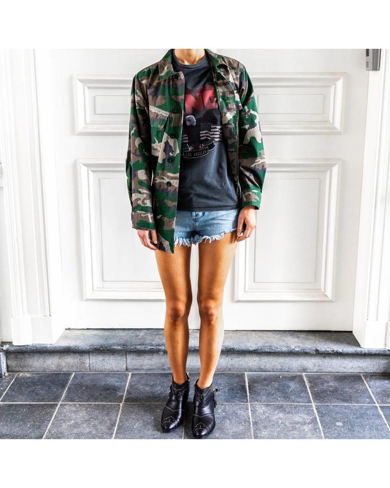Anine Bing Leandra Military jacket - Camo