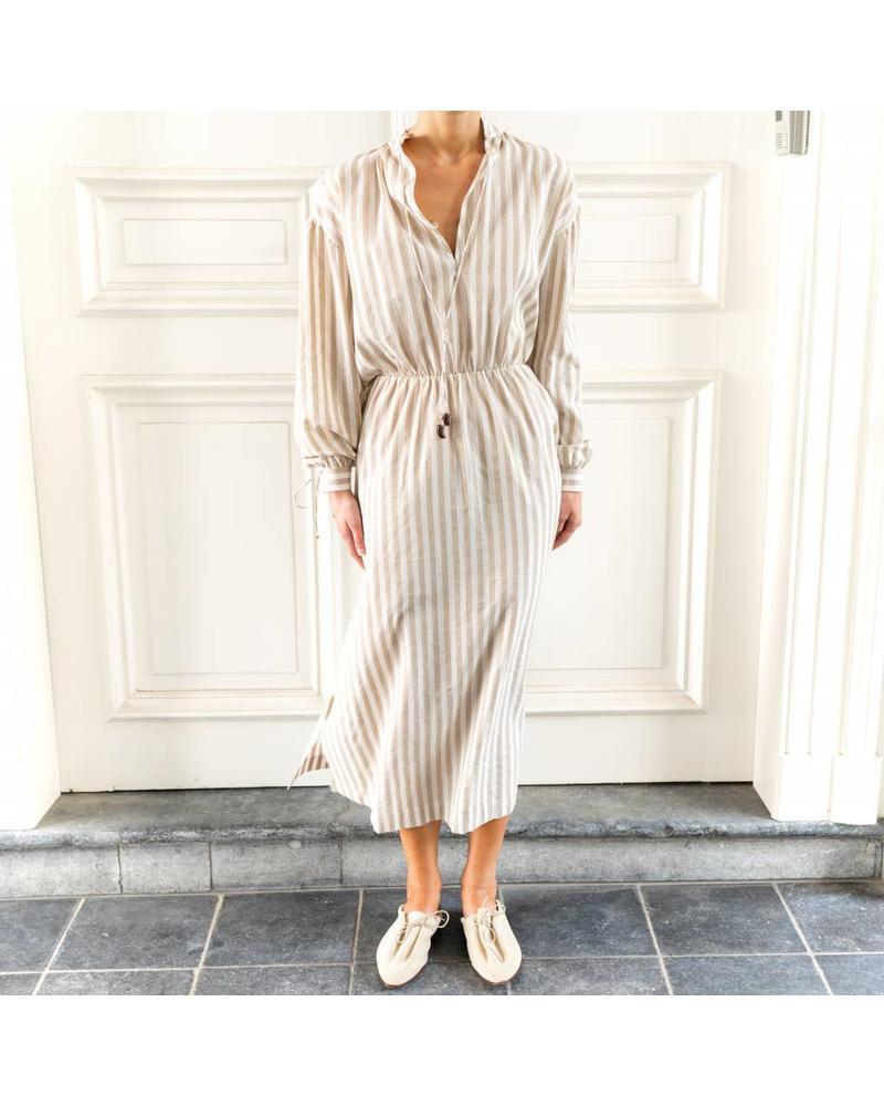 Nanushka Tala dress - Beige Creme