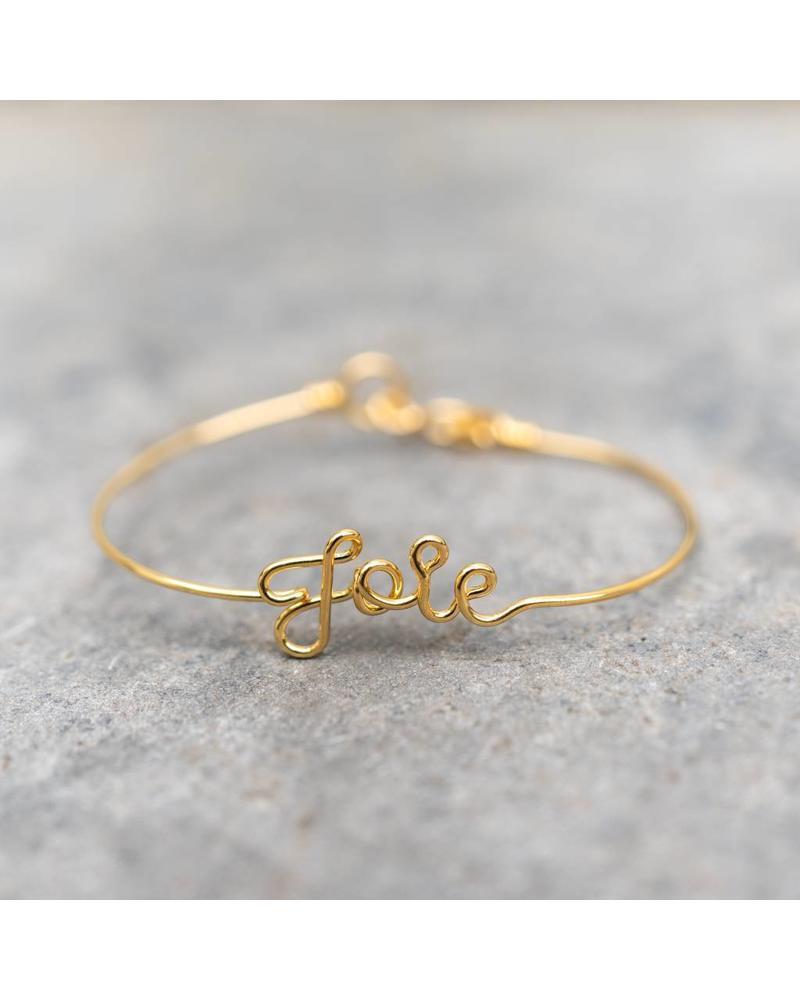Atelier Paulin Bracelet JOIE - Gold Plated