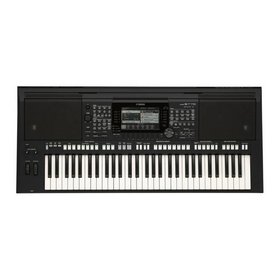 Yamaha PSR S775 Arranger Keyboard