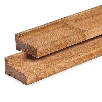 Poutre de fondation en bois dur pour chalet 45/58/70mm
