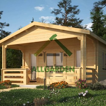 chalet MICHIGAN en 68mm / 450x600cm