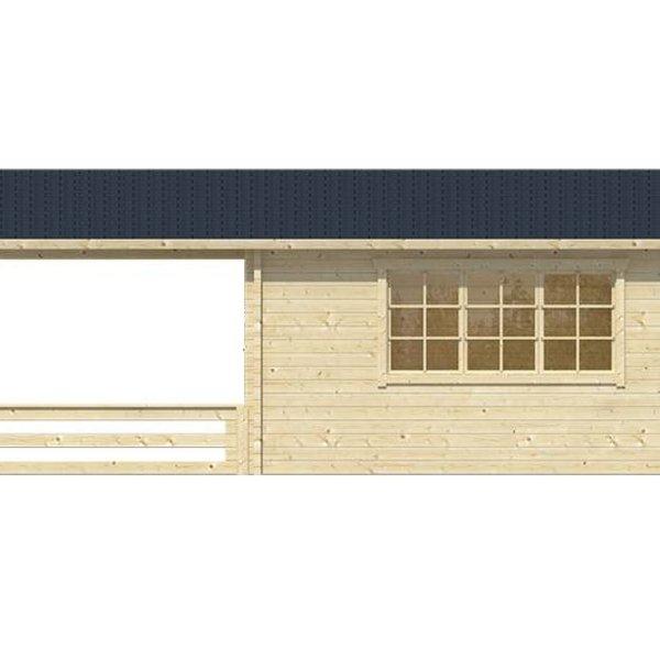 Tuinhuis 58mm WATFORD 5,4x5,4m