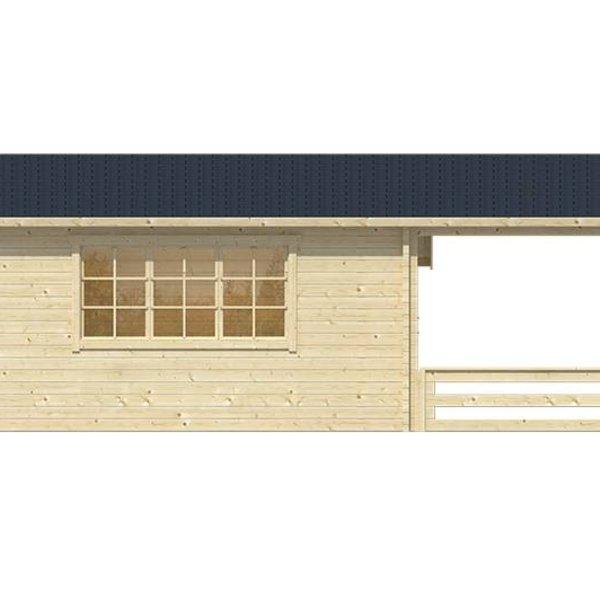 Tuinhuis 58mm LIVERPOOL 6,94x5,4m