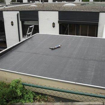 Couverture de toiture EPDM pour toit plat