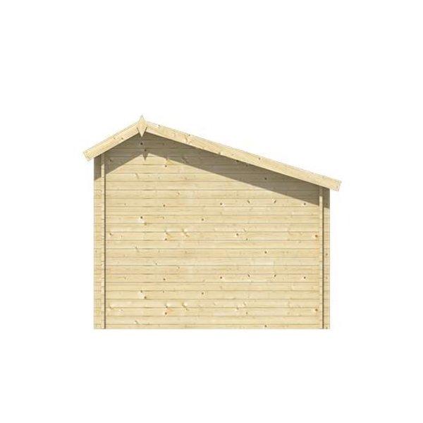 Abri de jardin 40mm KUKKA 7x3,5m
