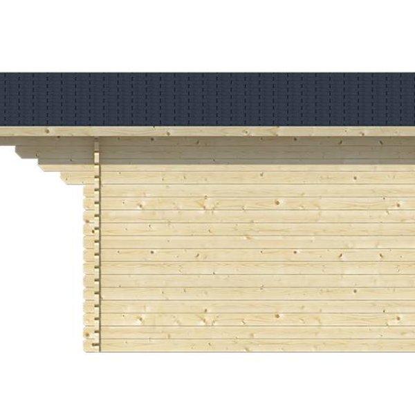 Abri de jardin 40mm RIHO 3,2x3,2m