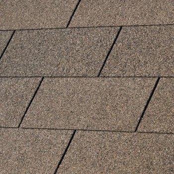 Bardeaux toiture 'shingles' droits par 3m2 marron
