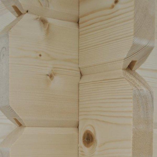 Tuinhuis in 34mm dikte LINZ 445x355cm