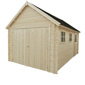 Garage en madrier 28mm 320x535cm - GLOUCESTER