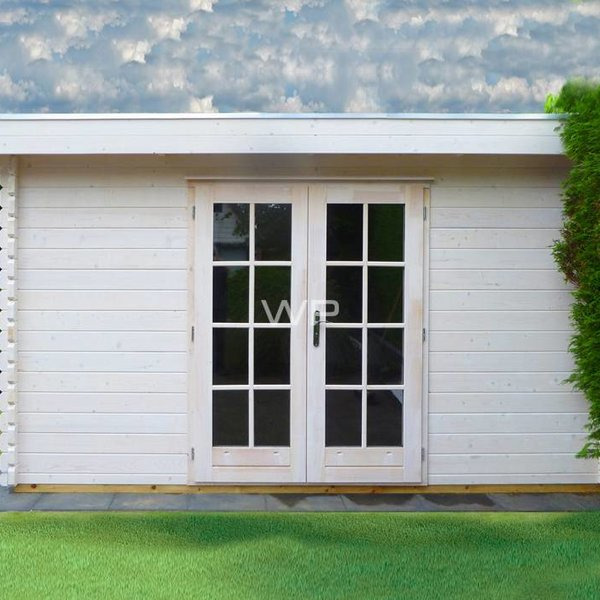 Tuinhuis  WOODPRO in wanden 44mm 400x500cm