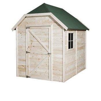 Abri de jardin en panneaux  12mm'ECO' impregné cottage 180x240cm