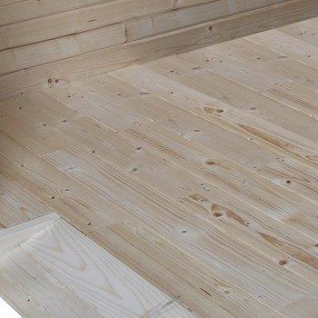 Vloer compleet voor blokhut geimpregneerd ref 7504