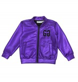 Gardner & the gang The metallic jacket purple