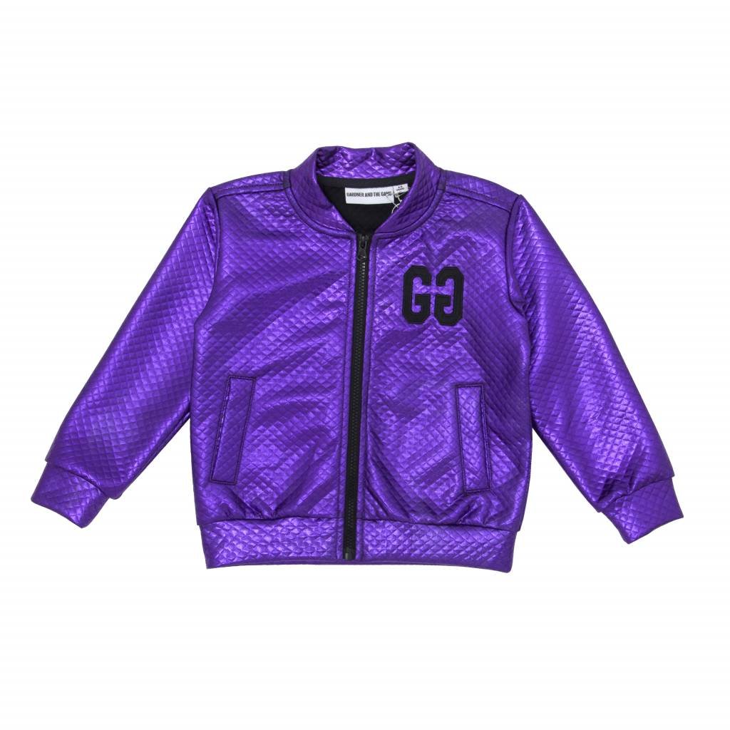 Gardner and the Gang The metallic jacket purple
