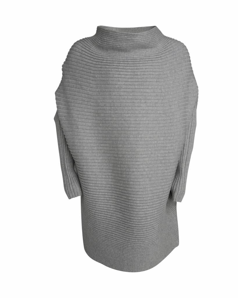 Little Remix Jr ribly drape light grey melange