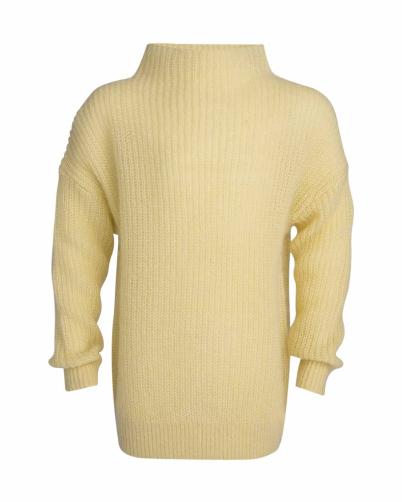 Little Remix Jr vicky sweater pastel yellow