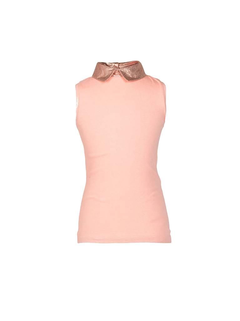 Le Big Cleo collar top rosé goud