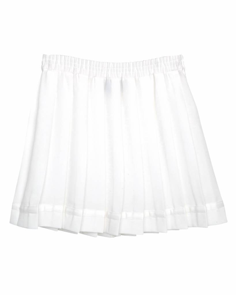 Little Remix Luella pleat skirt cream