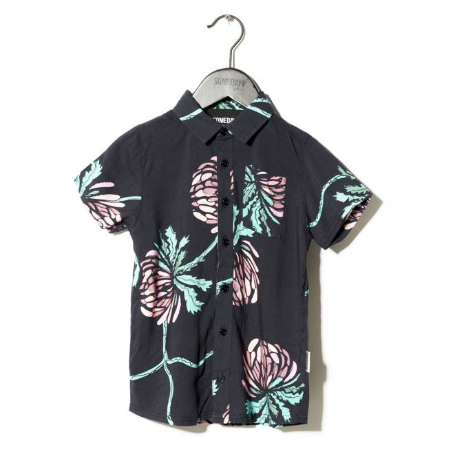 Someday Soon Miles shirt black