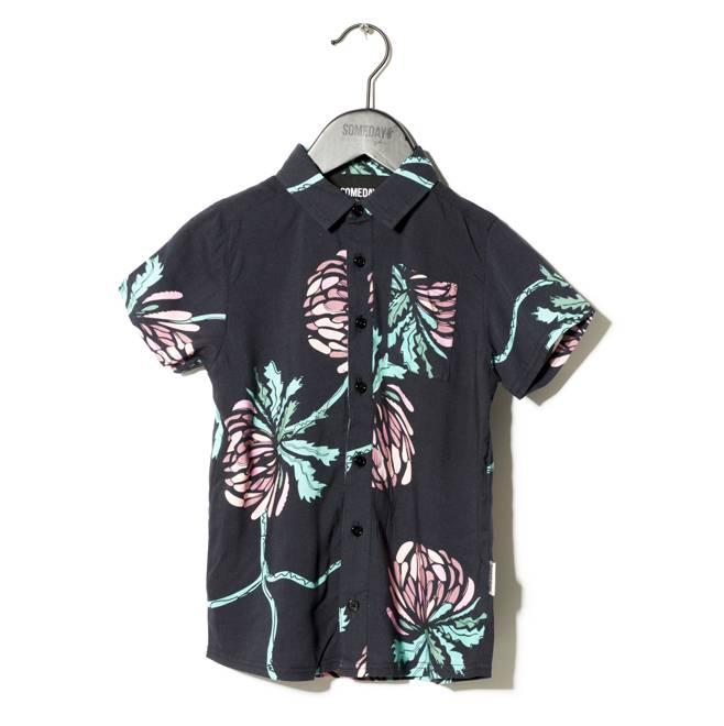 Someday Soon Miles shirt zwart