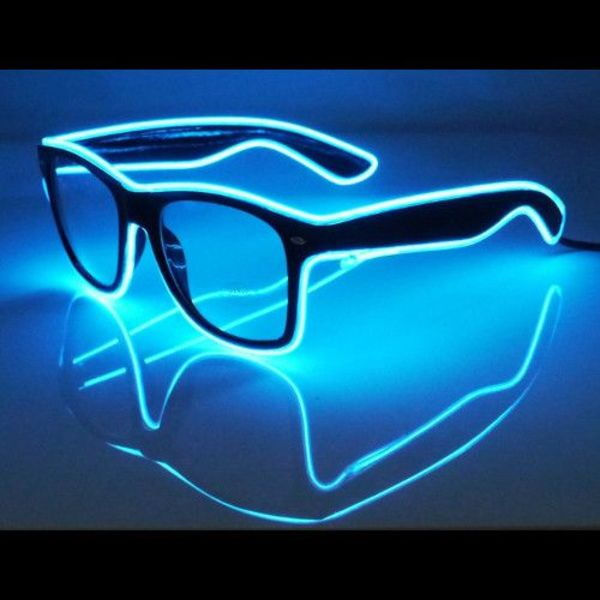 EL Wire Glasses - Bulk - Wholesale - GlowFactory.co.uk