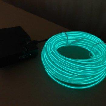 EL Wire 10 meter Green