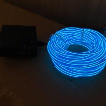 EL Wire 10 meter Blue