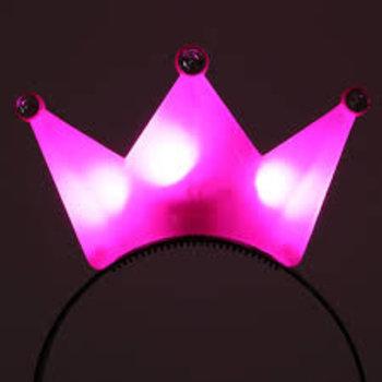 Light Up Crown Pink / Led Crown Pink
