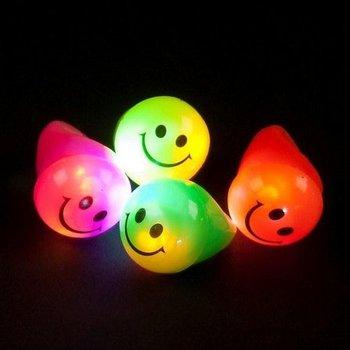 Light Up Ring Smile / Flashing Jelly Ring Smile
