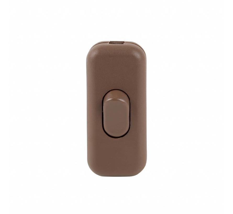 Cord switch brown