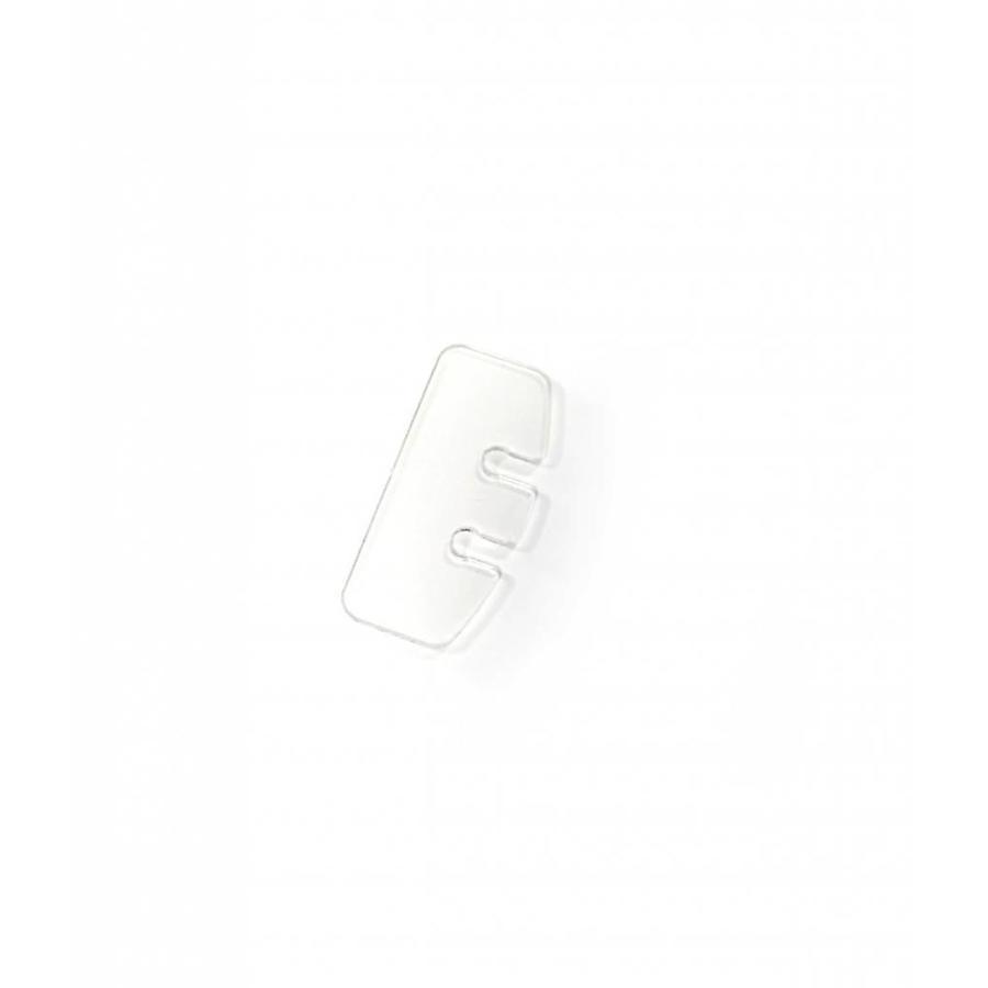Cord clip 'Knut' plastic
