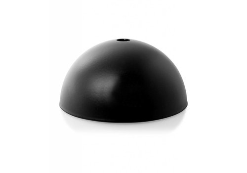 Plafondkap Hemming metaal zwart