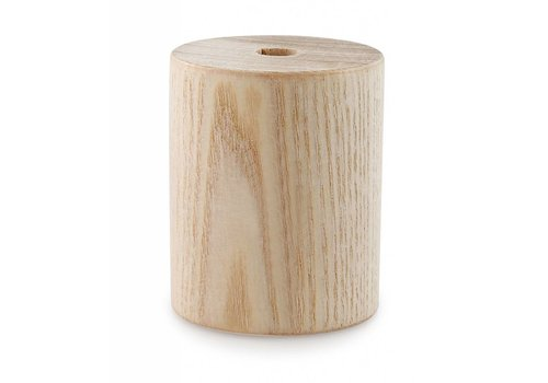 Wooden Lamp Holder 'Woody' Cylinder